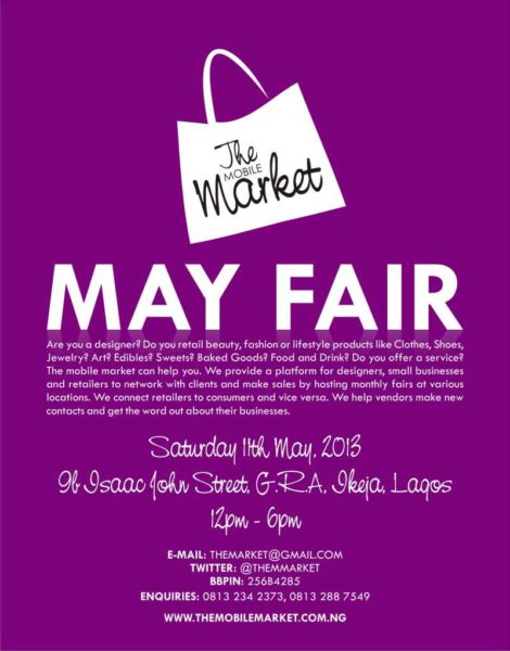 The Mobile Market May Fair - BellaNaija - May2013
