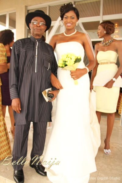 Tienepre Oki & Charles Udejiofor White Wedding - May 2013 - BellaNaijaWeddings087
