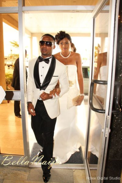 Tienepre Oki & Charles Udejiofor White Wedding - May 2013 - BellaNaijaWeddings098