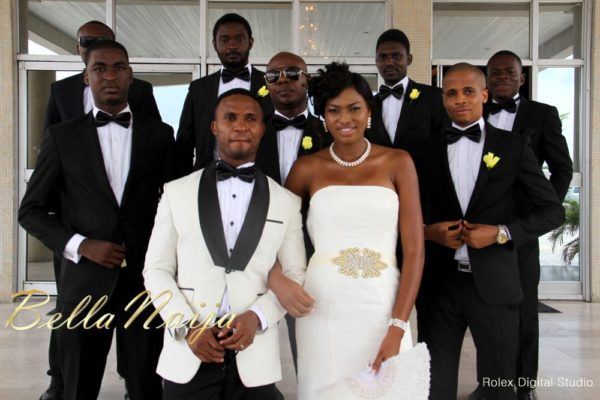 Tienepre Oki & Charles Udejiofor White Wedding - May 2013 - BellaNaijaWeddings104