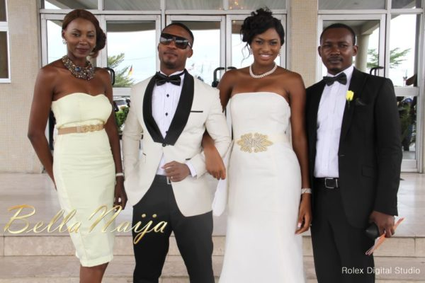 Tienepre Oki & Charles Udejiofor White Wedding - May 2013 - BellaNaijaWeddings107