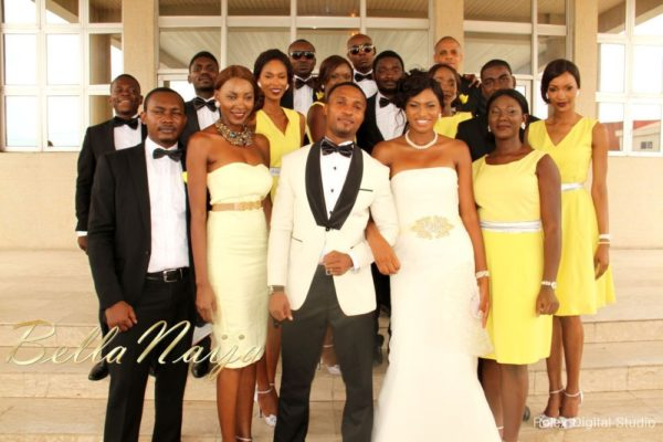 Tienepre Oki & Charles Udejiofor White Wedding - May 2013 - BellaNaijaWeddings109