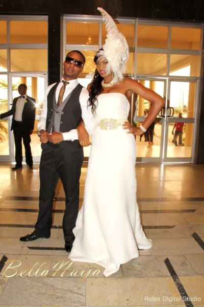 Tienepre Oki & Charles Udejiofor White Wedding - May 2013 - BellaNaijaWeddings118