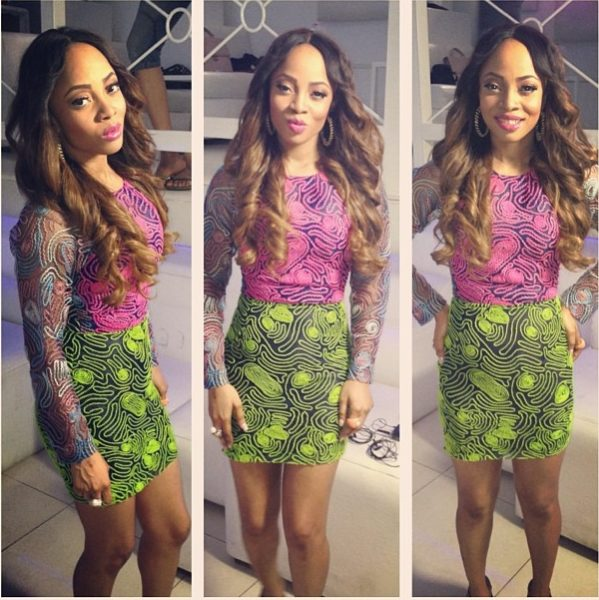 Toke Makinwa - Instagram - May 2013 - BellaNaija