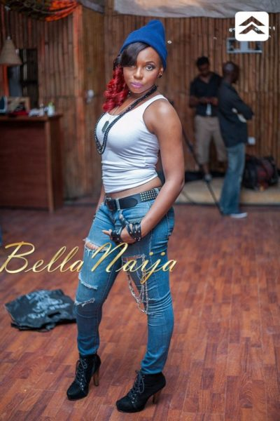 Yemi Alade's Bamboo Video Shoot - May 2013 - BellaNaija013