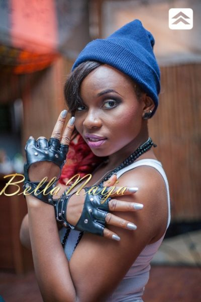 Yemi Alade's Bamboo Video Shoot - May 2013 - BellaNaija024