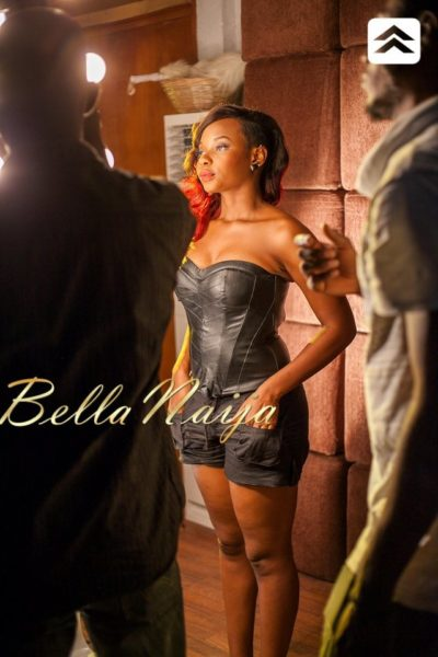 Yemi Alade's Bamboo Video Shoot - May 2013 - BellaNaija124