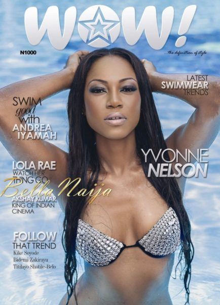 Yvonne Nelson on WOW Magazine's May 2013 Issue - May 2013 - BellaNaija003 - BN
