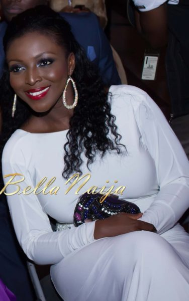 Yvonne Okoro in Mark + James by Badgley Mischka - 2013 AMAAs - May 2013 - BellaNaija