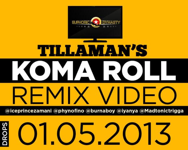 koma roll remix