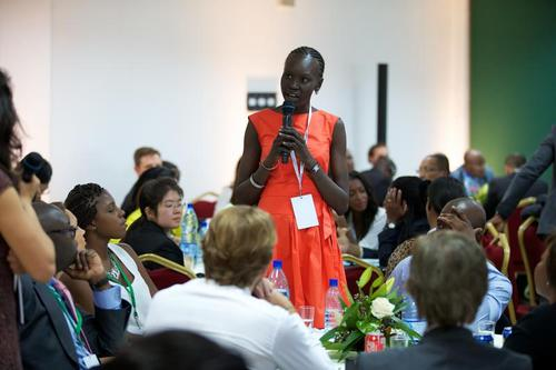Alek Wek UNHCR Ambassador - BellaNaija - June2013