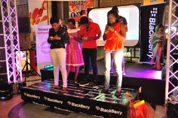 BlackBerry Typing Tournament with Eku Edewor - June 2013 - BellaNaija012
