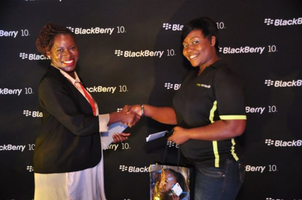 BlackBerry Typing Tournament with Eku Edewor - June 2013 - BellaNaija024