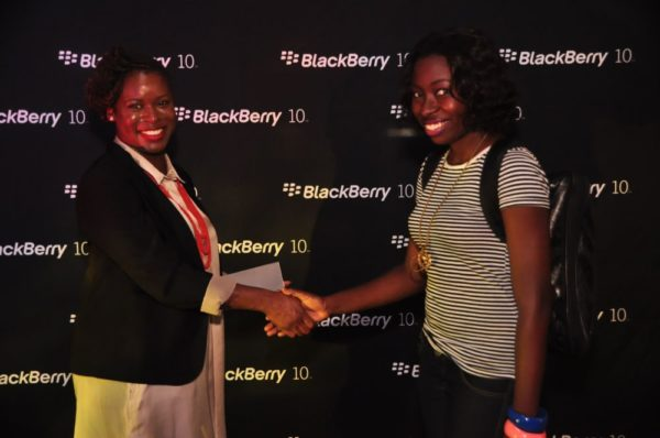 BlackBerry Typing Tournament with Eku Edewor - June 2013 - BellaNaija028