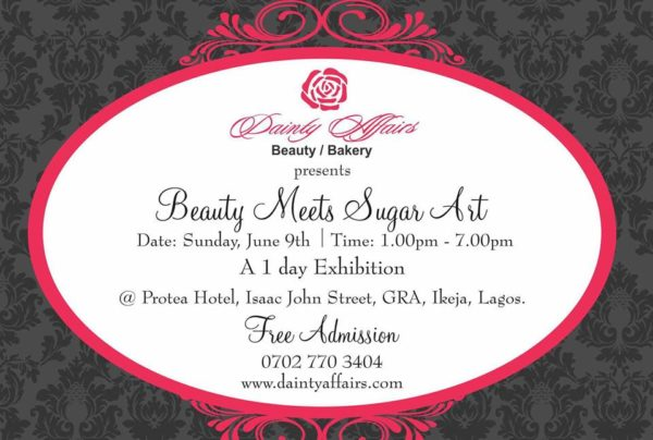 Dainty Affairs -Beauty Meeys Sugar Craft