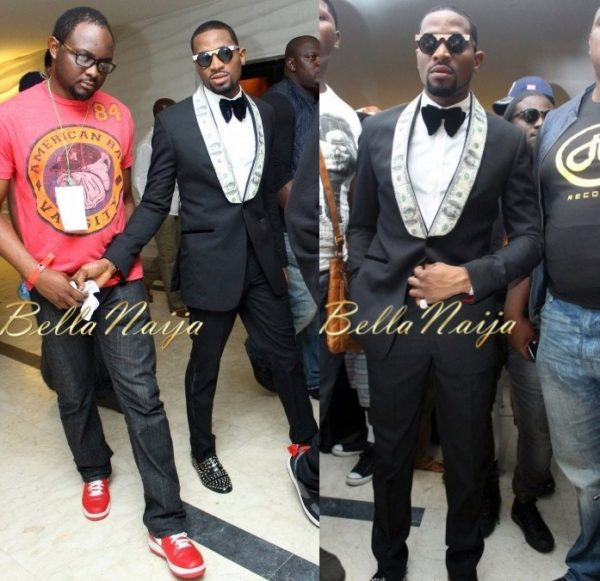 D'banj in Okunoren Twins  - BN Style Exclusive - DKM Live in Concert Show - June 2013 - BellaNaija