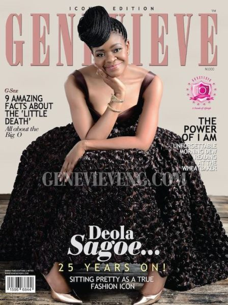 Deola Sagoe covers Genevieve Magazine June 2013 Issue - BellaNaija