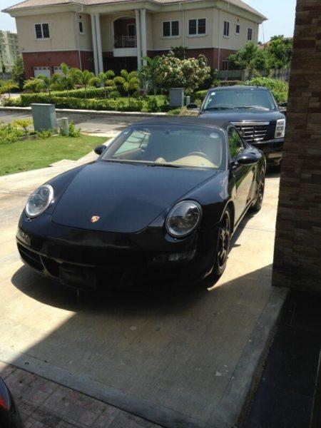 Don Jazzy Porsche