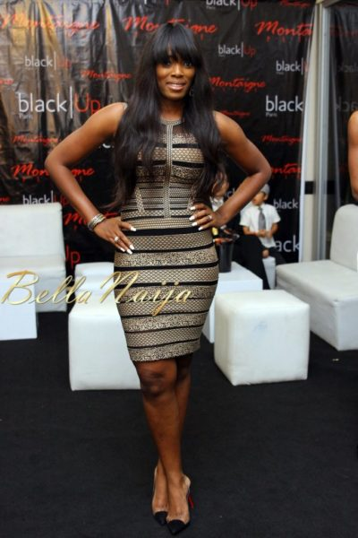 Elohor Aisien in Herve Leger by Max Azria - Pick Your Fave - June 2013 - BellaNaija