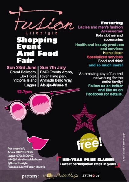 Fusion Lifestyle Shopping Event & Food Fair