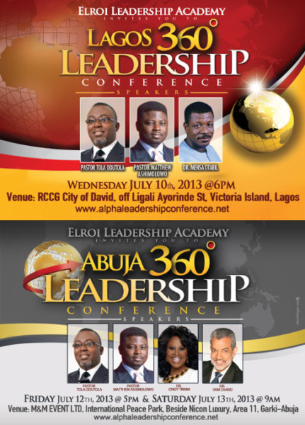 Lagos 360 Leadership Conference - BellaNaija - June2013