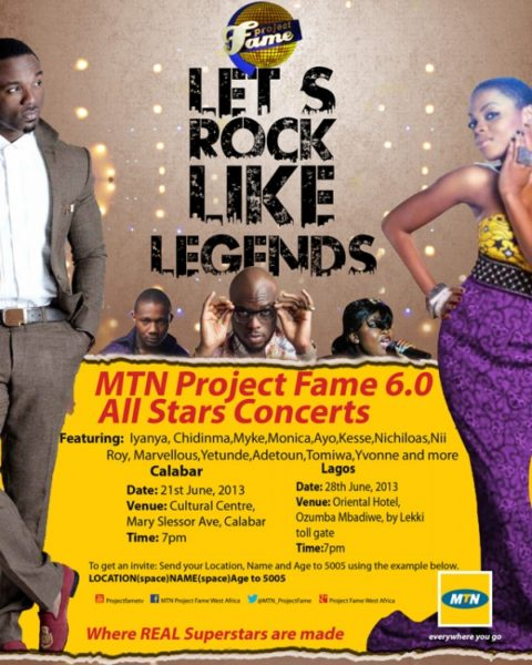 MTN Project Fame West Africa Season 6