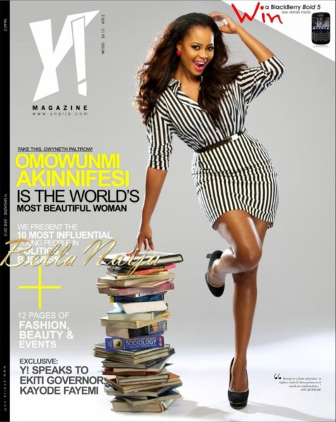 Omowunmi Akinnifesi covers Y! Magazine's June 2013 Issue - June 2013 - BellaNaija003