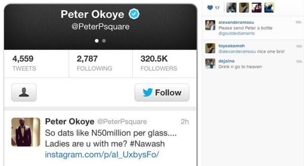 Peter Okoye Alexander Amosu