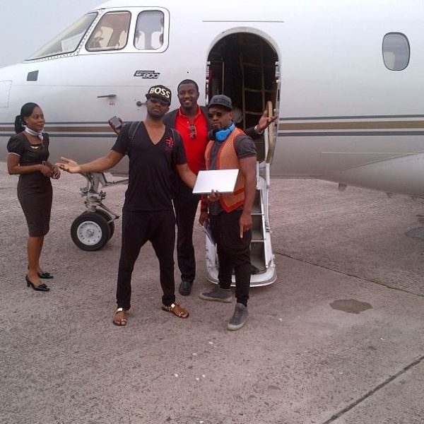 Private Jet John Dumelo Fally Ipupa Adebayor (1)