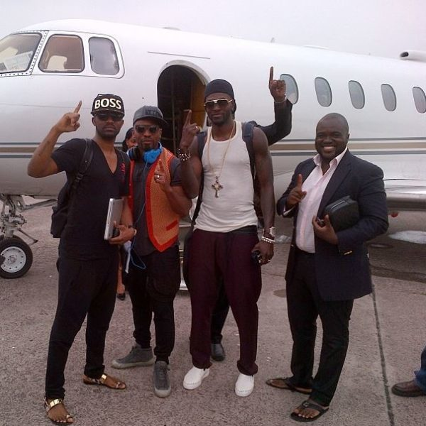 Private Jet John Dumelo Fally Ipupa Adebayor (2)