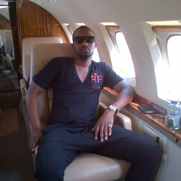 Private Jet John Dumelo Fally Ipupa Adebayor (3)