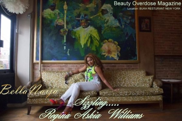Regina Askia Williams covers Beauty Overdose Magazine - June 2013 - BellaNaija002