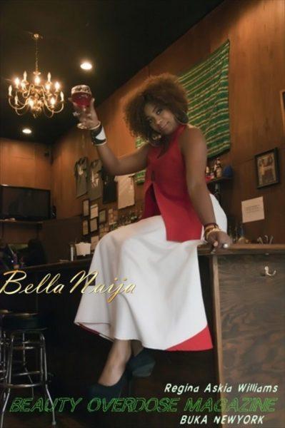 Regina Askia Williams covers Beauty Overdose Magazine - June 2013 - BellaNaija003