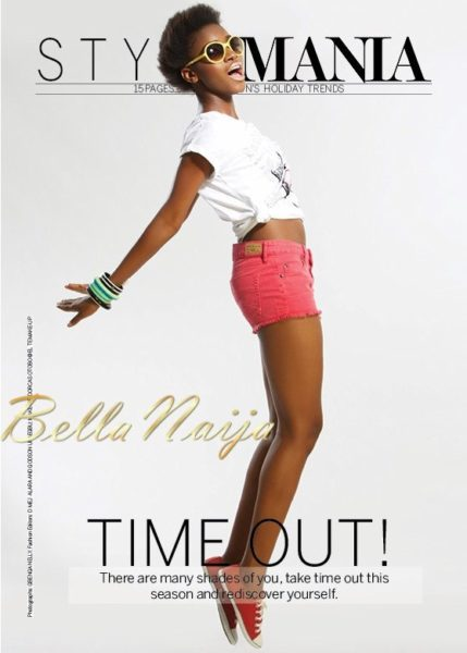 Tiwa Savage on the cover of Mania Magazine - June 2013 - BellaNaija006