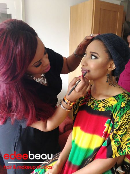 Tonto Dikeh Edee Beau Kukere Concert Make-Up Look - June 2013 - BellaNaija001