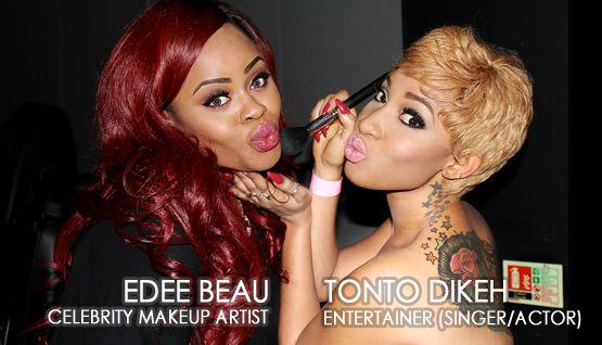Tonto Dikeh Edee Beau Kukere Concert Make-Up Look - June 2013 - BellaNaija002