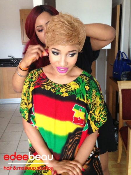 Tonto Dikeh Edee Beau Kukere Concert Make-Up Look - June 2013 - BellaNaija003