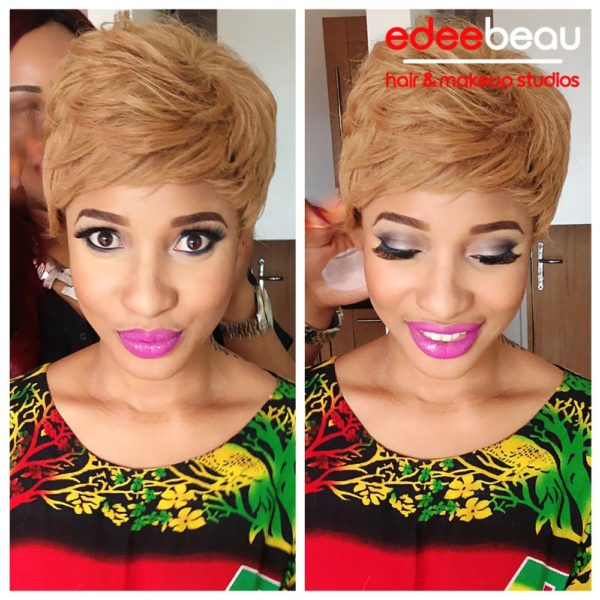 Tonto Dikeh Edee Beau Kukere Concert Make-Up Look - June 2013 - BellaNaija006