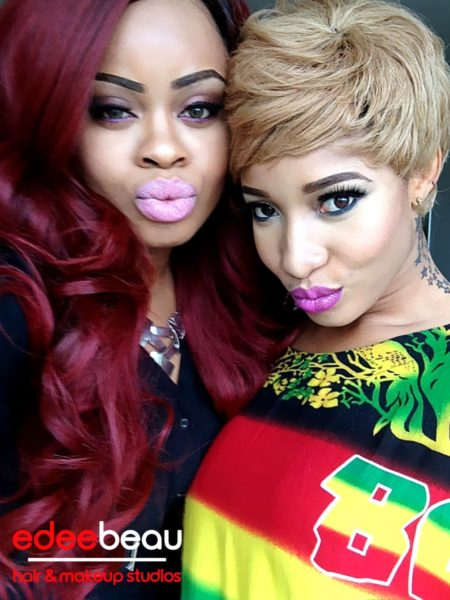 Tonto Dikeh Edee Beau Kukere Concert Make-Up Look - June 2013 - BellaNaija007