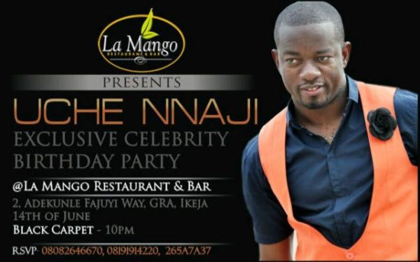 Uche Nnaji Exclusive Celebrity Birthday Party