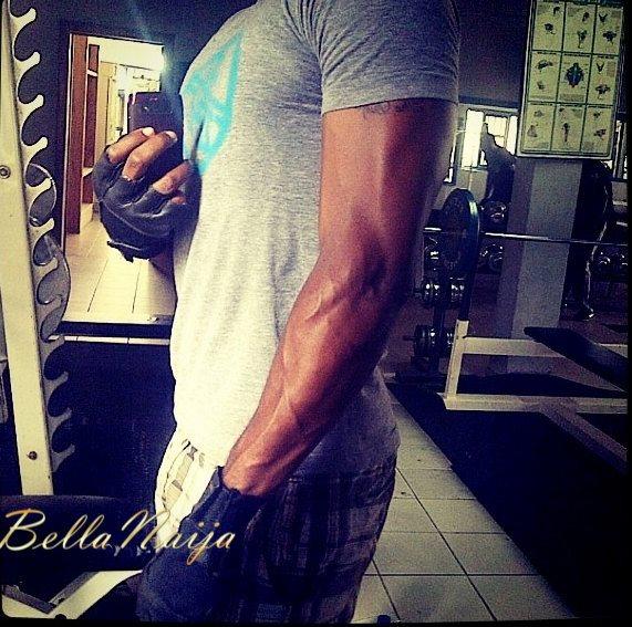 Which Male Celebrities has the best 6 Packs + Biceps- June 2013 - BellaNaija009