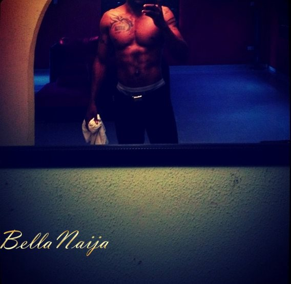 Which Male Celebrities has the best 6 Packs + Biceps- June 2013 - BellaNaija011