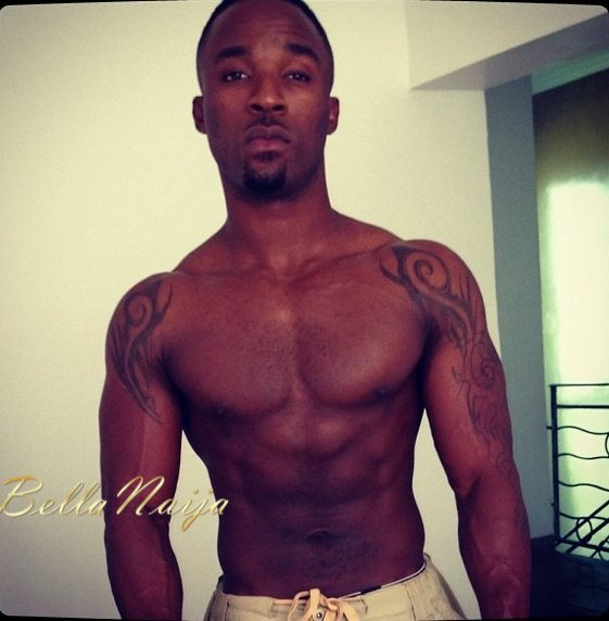 Which Male Celebrities has the best 6 Packs + Biceps- June 2013 - BellaNaija019