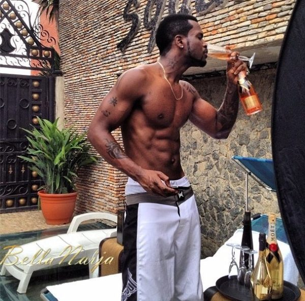 Which Male Celebrities has the best 6 Packs + Biceps- June 2013 - BellaNaija033