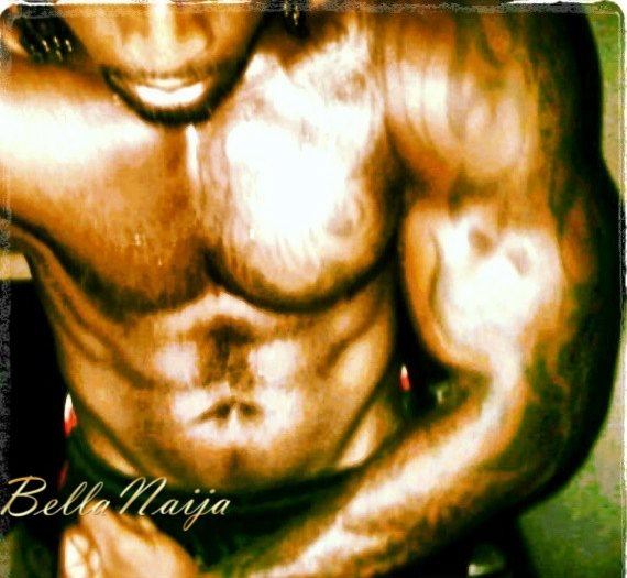 Which Male Celebrities has the best 6 Packs + Biceps- June 2013 - BellaNaija040