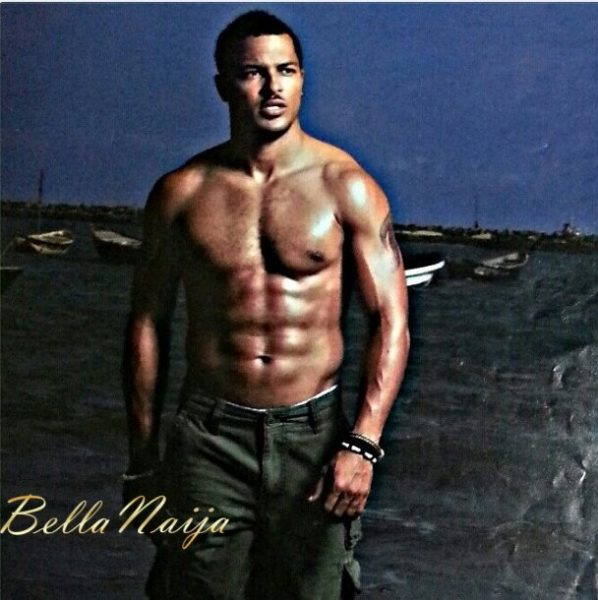 Which Male Celebrities has the best 6 Packs + Biceps- June 2013 - BellaNaija042