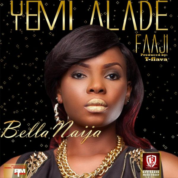 Yemi Alade - Faaji [Single Cover]
