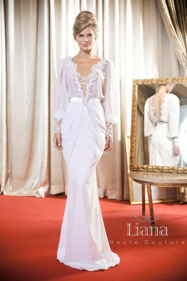 Bn bridal liana haute couture 2013 2014 collection for Couture house