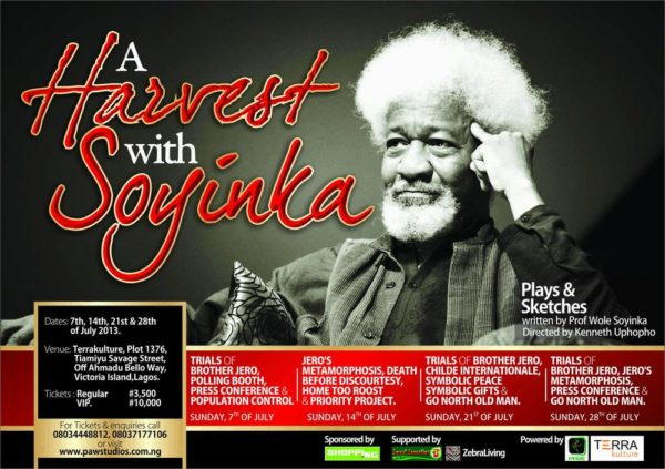 A Harvest of Soyinka - July 2013