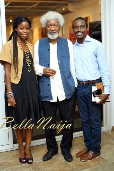 Ann Ogunsulire, Prof. Wole Soyinka & Tolu Ogunlesi